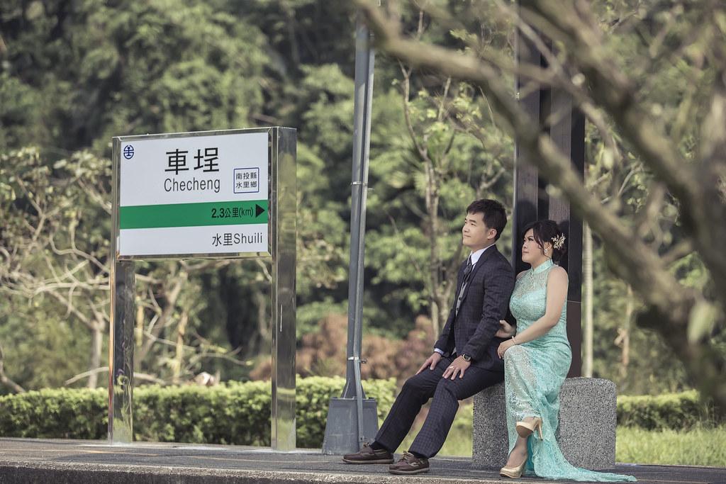 263婚紗攝影-婚紗照-南投-車埕車站