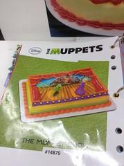 Muppets birthday cake (splinky9000) Tags: kingston ontario wal mart