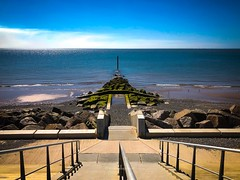Pristine Promenade (Wizard Snaps) Tags: weather england seadefence embellishments promenade fleetwood beach seaside
