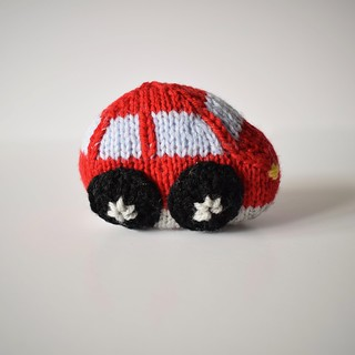 Toy Cars: Red coupe