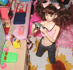 Ichigo (fairy*flowers) Tags: momoko sweet poogle sekiguchi rement miniature dress outfit fashion doll barbie top model