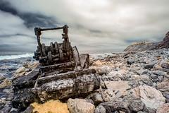 Wrecked (Jose Matutina) Tags: ss dominator shipwrecked shipwreck san pedro tractor california abandoned