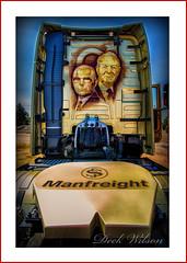 Volvo FH16-750, Manfreight (Deek Wilson) Tags: volvofh16750 manfreight airbrush portrait volvo truck bigttruckrun northernireland