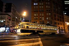 MUNI 1056 on Market (Justin Franz) Tags: 2020msrcalendar streetcar sanfrancisco