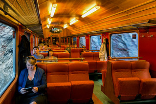 The Flåm Express in Norway