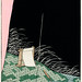 Nightscape illustration from Bijutsu Sekai (1893-1896) by Watanabe Seitei, a prominent Kacho-ga artist. Digitally enhanced from our own original edition.