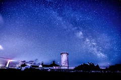 Nash point (tudurnokia) Tags: stars night longexposure 70d canon wales wilkyway