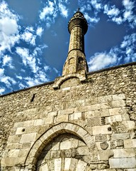 Dundar Bey Madrasah. (abdllhsrcgraf@outlook.com.tr) Tags: structure sky historical house natural naturalistic antique nature building mosque minare ottoman empire old madrasah