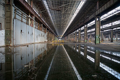 The Death Factory (piper969) Tags: factory fabbrica morte death incidente incident lavoro job riflesso reflex