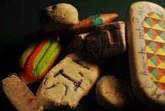 "From the depths of my school bag (Lenaprof) Tags: ""erasers"" macromondays"