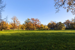 Alexander Palace. Autumn. (fedoseenko) Tags: санктпетербург россия красота colour природа nature beauty blissful loveliness beautiful saintpetersburg sunny art shine dazzling light russia day green park peace tree trees garden blue white голубой небо лазурный color sky pretty sun пейзаж landscape clouds view heaven mood serene golden grass field wood autumn gold пейжаз colours alley town outdoors picture отражение облака архитектура walkway architecture building palace tsar