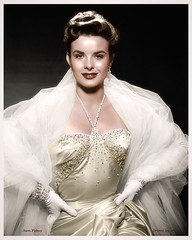 Jean Peters 1926 - 2000 (oneredsf1) Tags: actress colorized american peters jean