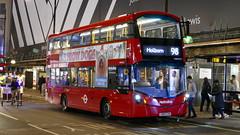 Warnings Present (londonbusexplorer) Tags: metroline travel volvo b5lh wrightbus gemini 3 vwh2372 lk67cyh 98 willesden bus garage holborn tfl london buses