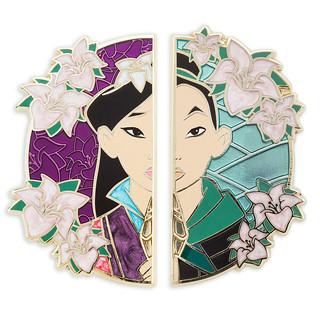 Mulan 20th Anniversary Pin Set - Limited Edition - US Disney Store Product Image #1