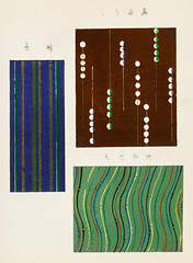 Vintage woodblock print of Japanese textile from Shima-Shima (1904) by Furuya Korin. Digitally enhanced from our own original edition. (Free Public Domain Illustrations by rawpixel) Tags: furuya korin otherkeywords tags antique asian background blue brown cc0 collection compilation decoration design fabric furuyakorin graphic green illustrated illustration japan japanese name old pattern plate print printed publicdomain set shimashima style textile textured various vintage wallpaper woodblockprint woodcut