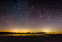 Orion Over Huron (NorthernWinterSky) Tags: astro space night stars constellation milkyway astroscape nikon d7200 tokina 1116mm lake sky nightscape f28