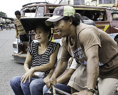Go, Go, Go (Beegee49) Tags: pedicab public transport rider pasenger bacolod city philippines