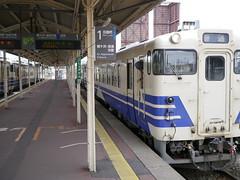 All aboard (しまむー) Tags: panasonic lumix gx1 g 20mm f17 asph natural train tsugaru free pass 津軽フリーパス