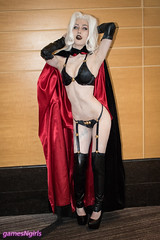 Lady Death cosplay (The Doppelganger) Tags: ladydeath cosplay cosplayer sexycosplay zenkaikon zenkaikon2018