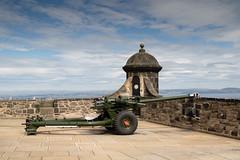 One o'clock Gun (StickyToffeeQueen) Tags: edinburghcastle gun scotland