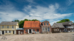 Retro Town (Edas Imagery) Tags: retro town sky clouds architecture history museum travel placestovisit edasimagery