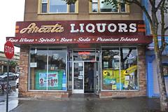 Arcata Liquors (skipmoore) Tags: arcata arcataliquors storefront neon sign