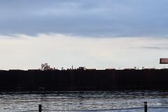 DSE_3092 (pezlud) Tags: 20180617 duluthharbor americanspirit groundedship shipaground ship grounded aground stoppedonly30ftfromseawall
