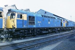 BRITISH RAIL 26027