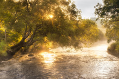 River Llugwy, Snowdonia. (stevemillington.co.uk) Tags: landscape snowdonia britishcountryside britishlandscapes northwales river riverside sunny sunshine fujinon xt2