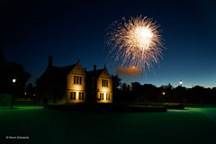 Oundle School Fireworks (norm.edwards) Tags: fireworks summer night explosion oundle lighting blue interesting lovely
