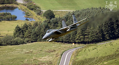 F-15C down low (The Don Photography) Tags: low level training america ally jet aircraft aviation photography canon mach loop wales