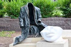 Empty Coat (Read2me) Tags: minneapolis pree cye statue scuplture sculpturegarden art outdoors empty thechallengefactorywinner ge