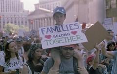 Families Belong Together (triebensee) Tags: leica m3 leitz summicron 50mm cinestillc41 epsonv700 film selfdeveloped cinestill50d familiesbelongtogether abolishice