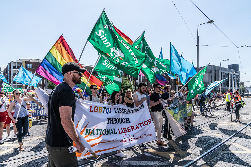 ABOUT SIXTY THOUSAND TOOK PART IN THE DUBLIN LGBTI+ PARADE TODAY[ SATURDAY 30 JUNE 2018] X-100089