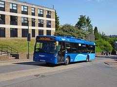 Nottingham City 541 University (Guy Arab UF) Tags: nottingham city transport 541 yn56fau scania n230ub omnicity bus university park hopperbus buses reading 12