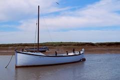 Maggie May at Burnham Overy on the Norfolk Coast (JauntyJane) Tags: norfolk boat sea coast eastcoast maggiemay burnhamovery eastanglia