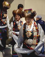 Lhakar(white Wednesday) Sonam Losar, Srongtsen Bhrikuti Boarding High School, Jan 2018. (Tenzin Samphel) Tags: faceoftibet beautyoftibet colorsoftibet tibetanportraits portraits tenzinsamphelphotography tibetanjewellery jewellery kathmandu nepal woman womanempowerment whitewednesday chupa tibetanart dancers womenswear womenclothing womensupportingwomen futureisfemale photooftheday newyork hats hatstyle