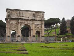 君士坦丁凱旋門   Roma, Italy (sonic010739) Tags: olympus omd em5markii olympusmzdigital1240mm italy roma