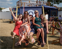 2_Henley Regatta-3025 (AndyG01) Tags: henleyregatta boats riverthames rowing girls fun deckchair giant gin plymouthgin bar