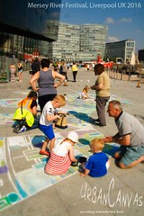 Sound City (day two) (UrbanCanvas) Tags: liverpool chalking chalk art artists artistic activity mersey river festival floor street sidewalk screever streetart screeving urbancanvas uk 2016 arts event giant pavement public workshop picture