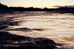 Bow River (JMacPherson) Tags: bowriver calgary sunset river rock