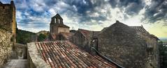 Gigondas (delphine imbert) Tags: gigondas village patrimoine pierre vins vignoble dentelles de montmirail vaucluse ciel tourisme église