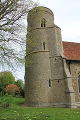 Bardwell Saling church (jpotto) Tags: uk essex church religion building structure architecture bardwellsaling littlebardwellsaling roundtower medieval
