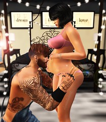 Good morning little sunshine. (AW02) Tags: sl secondlife photography couple moment poses love together mesh avatars pregnancy maternity happiness