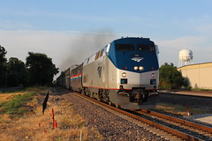 AMTK 34 (CC 8039) Tags: amtk amtrak trains passenger sunset granite city illinois p42