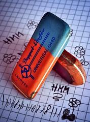 Erasers Old School (christiane.grosskopf) Tags: erasers macro mondays macromondays eraser oldschool radiergummi