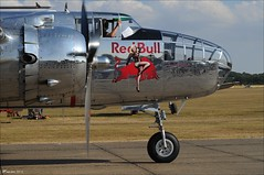 Mitchell RB (Hansmannn) Tags: duxford airshow iwm flyinglegends mitchell b25 rb redbull