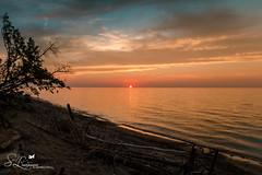 Iroquois Waters at Sunset (amndcook) Tags: gitchigumee shoreline rocks sunset landscape outside amandacook nature naturephotograph upperpeninsula outdoors water lake spiritledphotography lakesuperior michigan