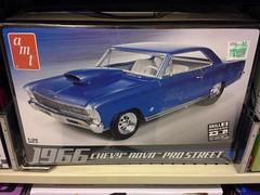 1966 Nova model kit (l_dawg2000) Tags: 70s bluelightspecial departmentstore discountstore germantown hobbylobby kmart old store supermarket tennessee tn vintage