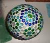 SAM_0685 (Mischandler) Tags: mischa bowling ball bowlingball garden flatmarbles grout crafts gazingballs lawnart silicone crafting diy projects marbles gardengazingballs mosaic